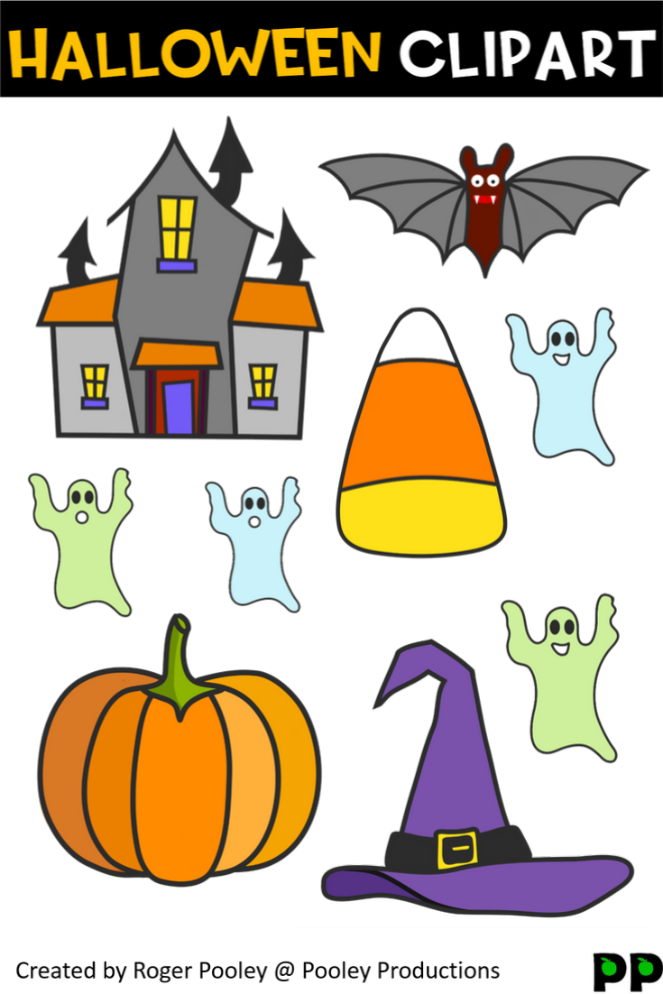 Halloween Clipart (With images) | Halloween teaching ...