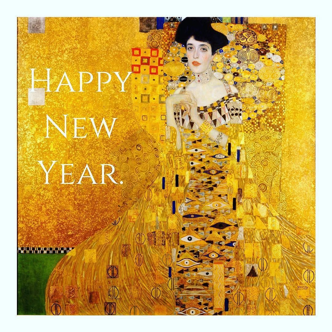 Welcome in the New Year with a Kiss from Klimt. (Gustav Klimt - The ...