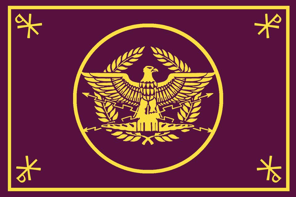 My Take On A Roman Empire Flag Vexillology Flag Art Historical Flags Roman Empire