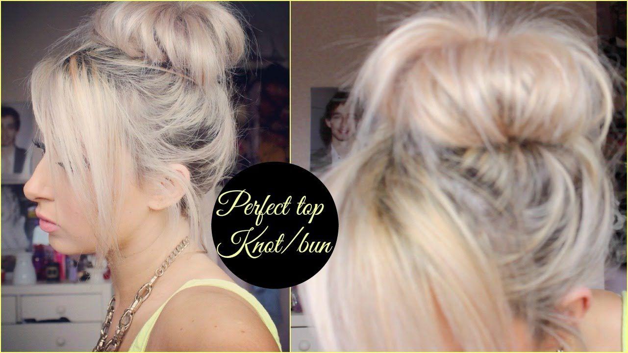 Pin by bananafishbones on beauty pinterest bun hair tutorials