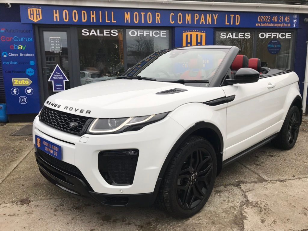 Used Land Rover Range Rover Evoque Convertible 2.0 Si4 Hse