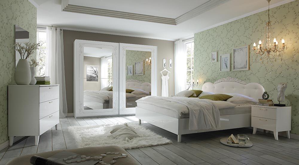 camera da letto matrimoniale completa romantica economica ...