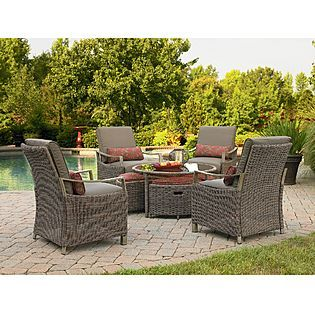 Simply Outdoors Seagrove 9 Pc Seating Set Outdoor Lounge Furniture