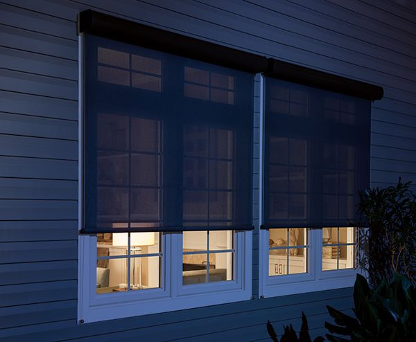 Exterior solar shades can provide the perfect light filtering option