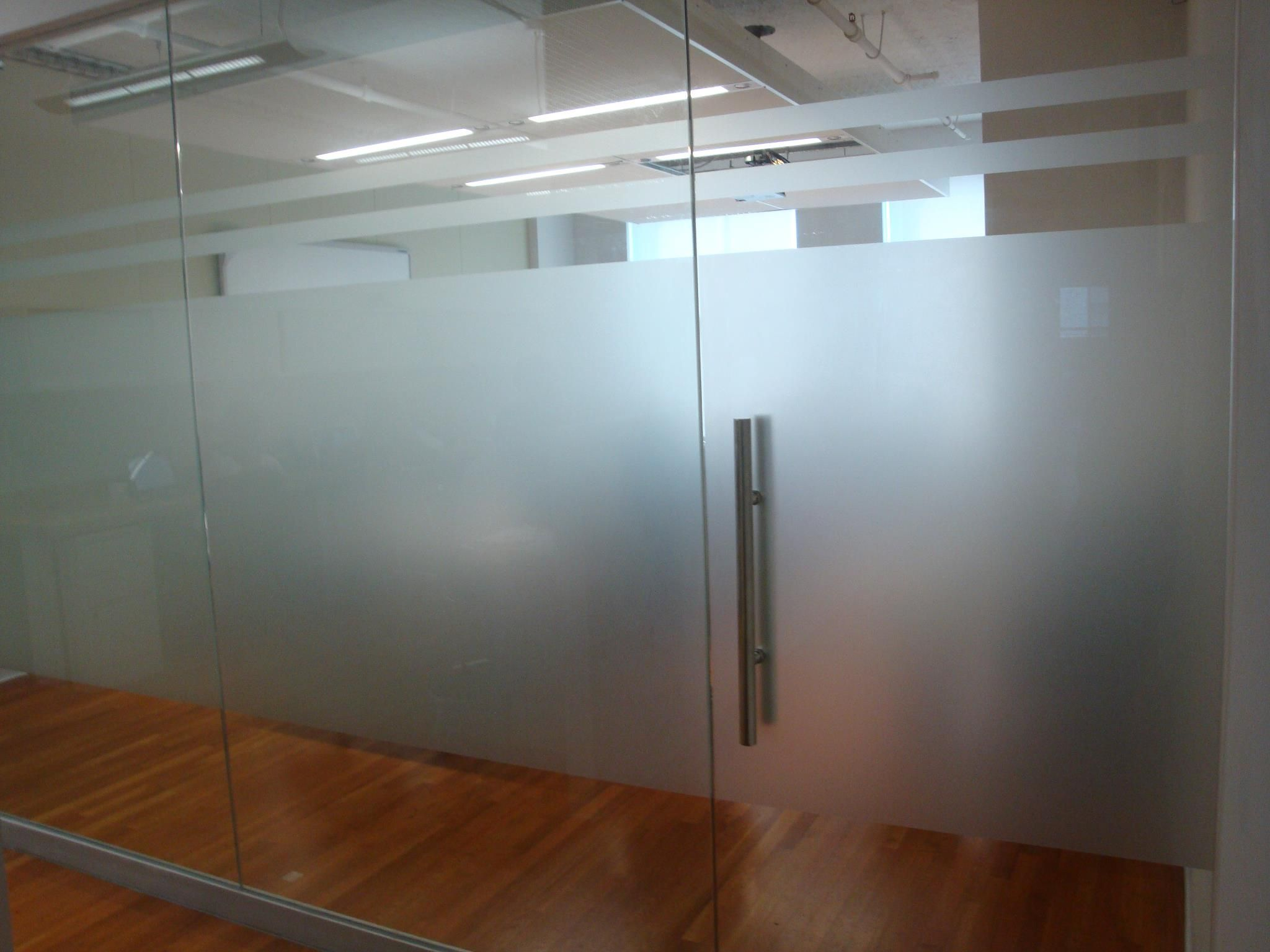 Frosted Office Glass Panel Nyc Frosted Business Glass Panel Nyc Frosted Vinyl Sign Nyc We Specialize In Custom Glass Office Doors Glass Door Door Signage