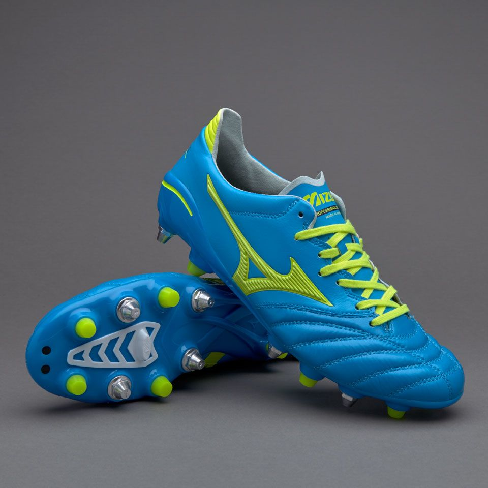 online store 8ffa0 4d8cd Mizuno Morelia Neo II Mix Made In Japan - Diva Blue/Safety ...