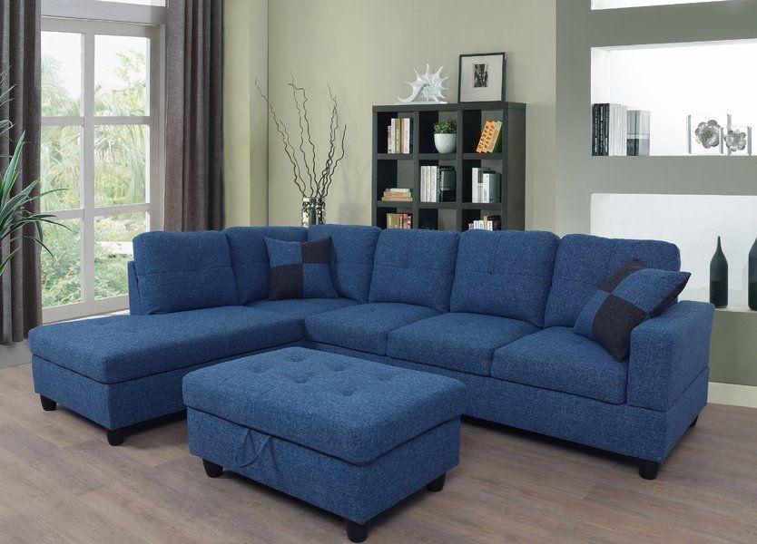 Medium Size Sectional   Wayfair   Home cinema room, Sofa ...