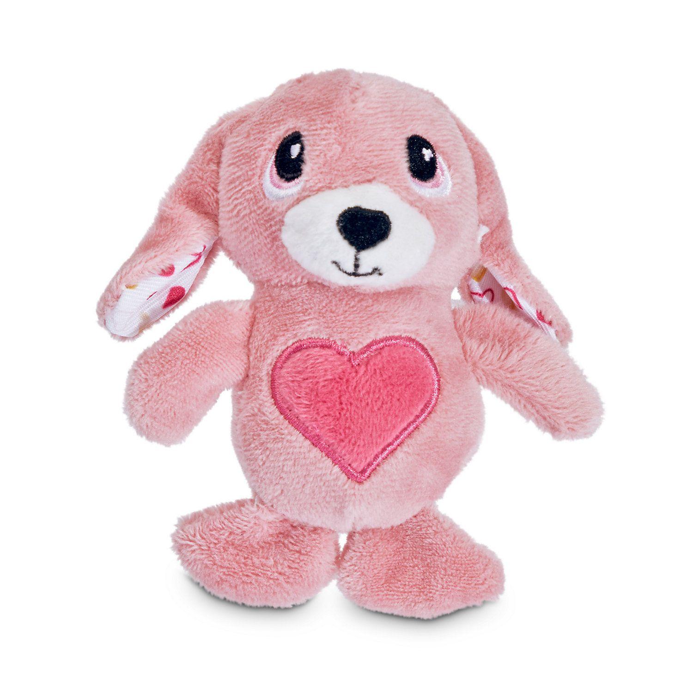 Love My Pup My Bunny Valentine Plush Dog Toy X Small Dog Toys