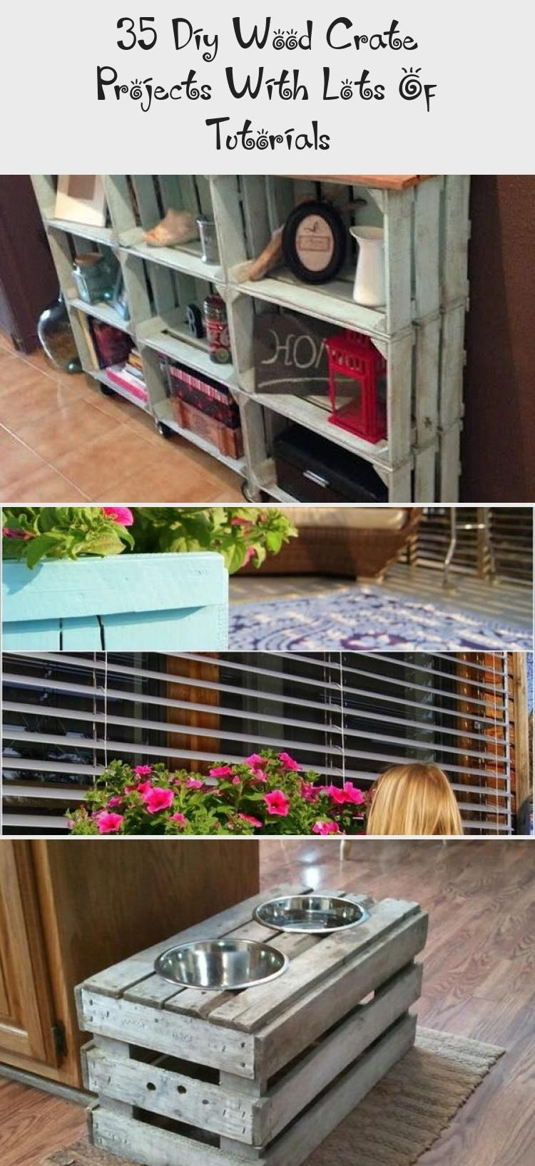 Photo of DIY Wood Crate Projects With Lots of Tutorials! #HomeDecorDIYWood