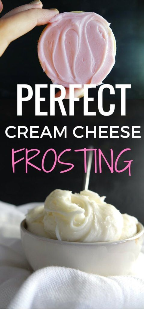 Perfect Cream Cheese Frosting - The DIY Foodie