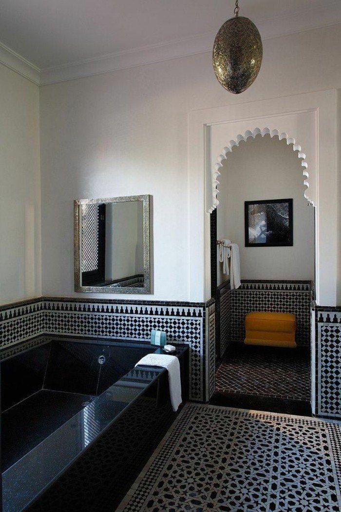 La beauté de la salle de bain noire en 44 images ...