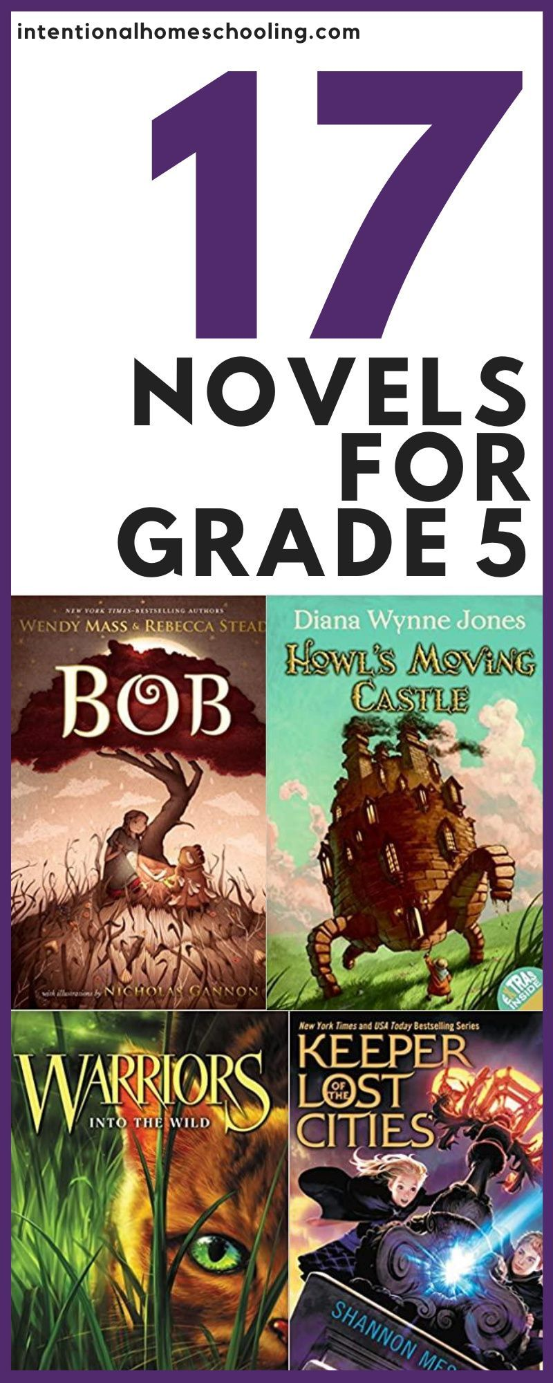 17 great chapter books for grade five intentional