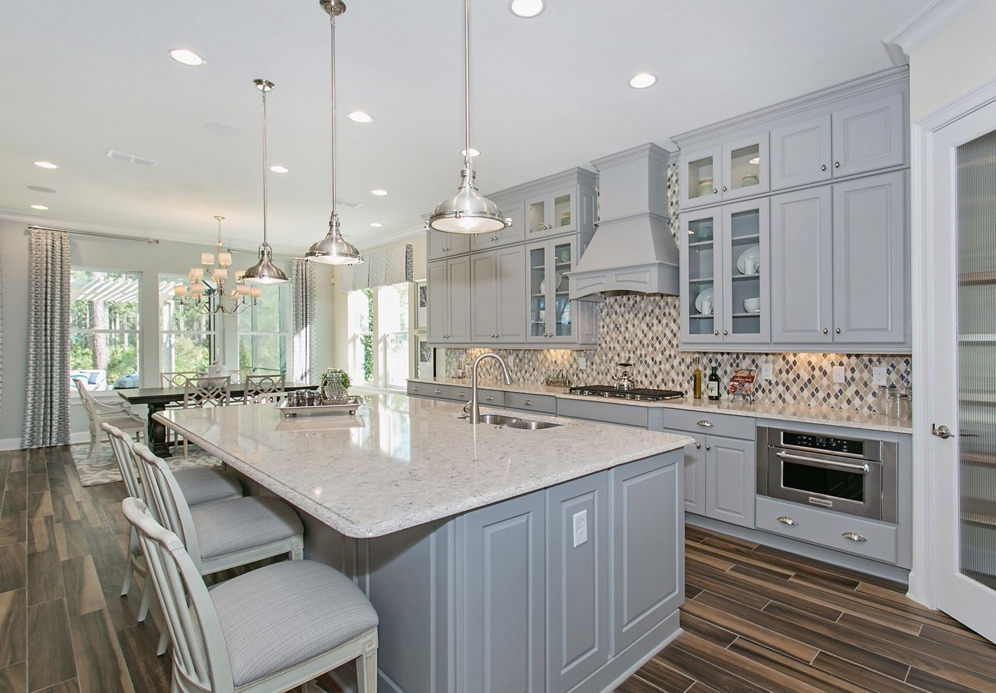 Calatlantic Homes In Twenty Mile Village Grove Kitchen Award Winning Model Homes Of Nocatee