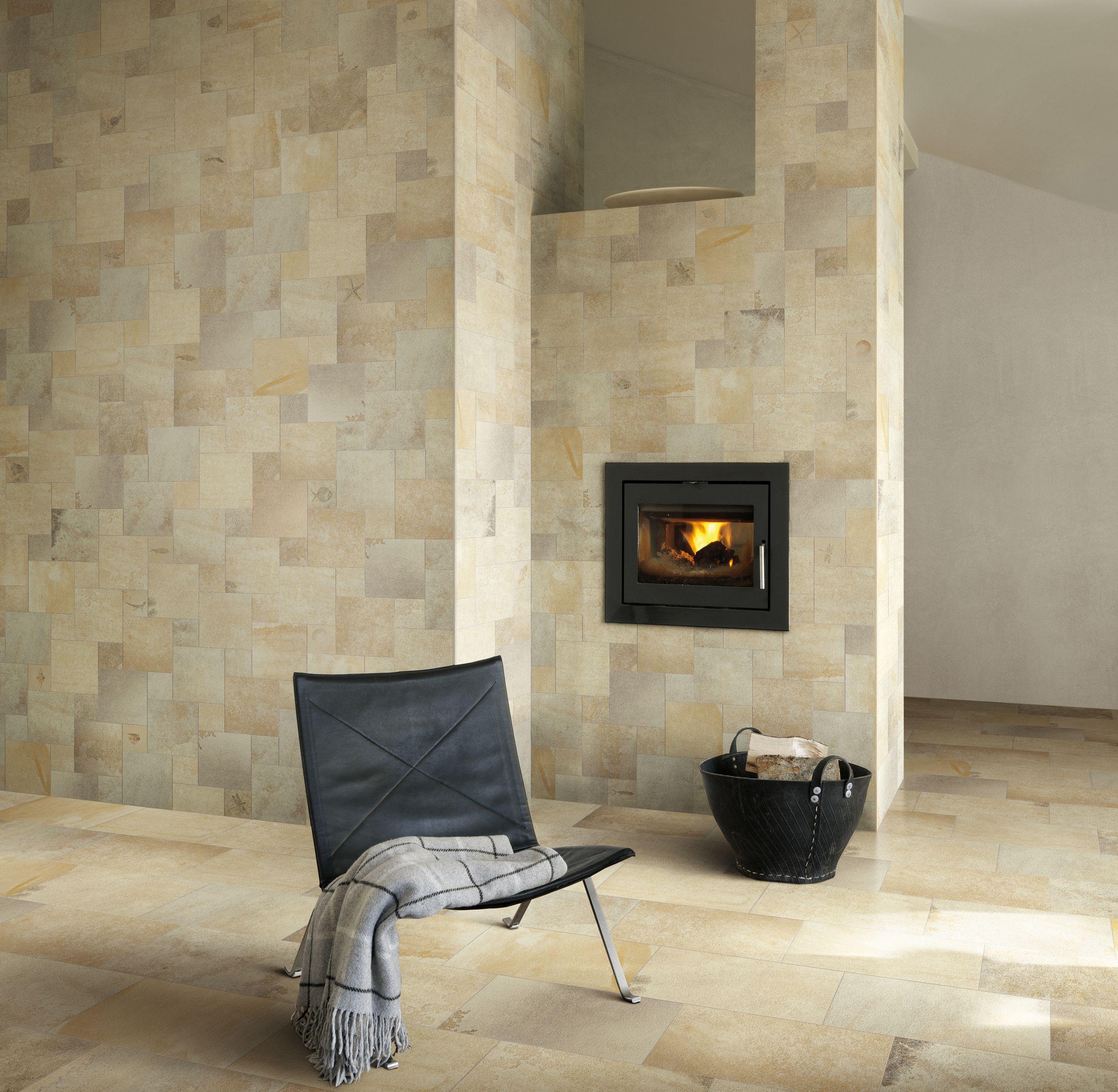 Porcelain Tile Living Room: Ceramiche Refin S.p.A.