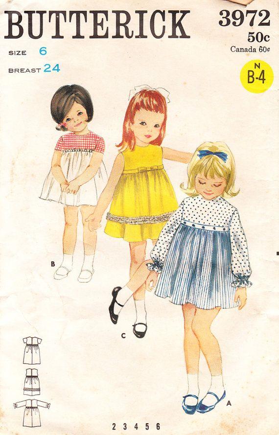 1960s Empire Dresses