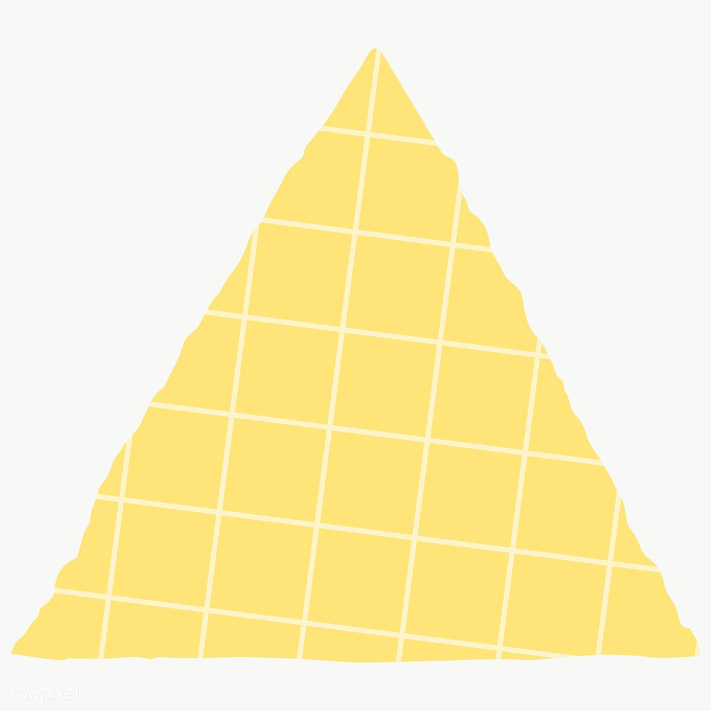 Blank Yellow Triangle Paper Note Social Ads Template Illustration Free Image By Rawpixel Com Manotang Note Paper Sticky Notes Collection Social Ads