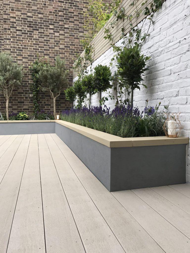 Contemporary modern garden design by London designer Kennington | Londo ... - Elaine -   12 garden design Contemporary landscaping ideas