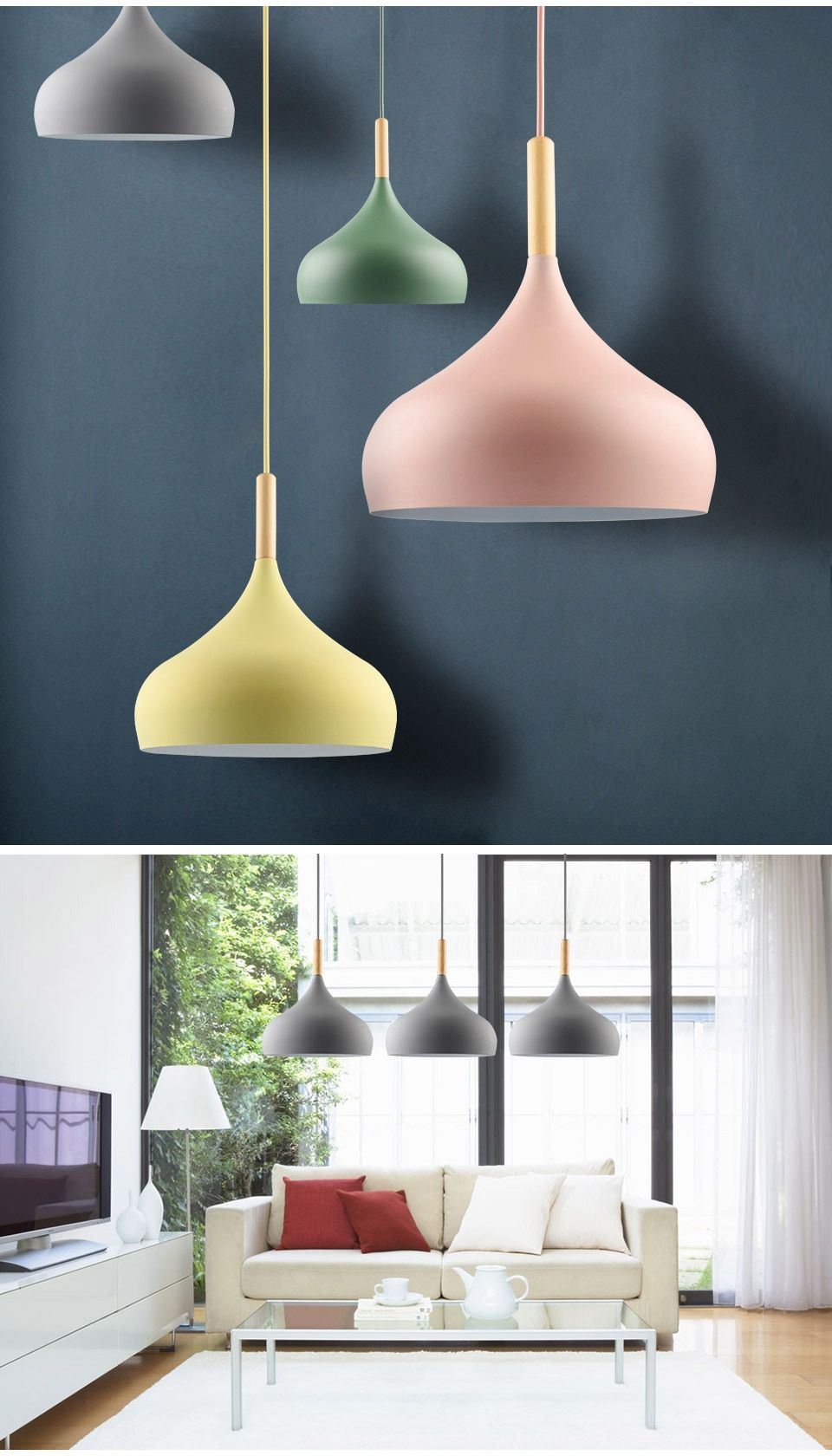 Flaviana Colorful Pendant Light | Lamp light, Pendant