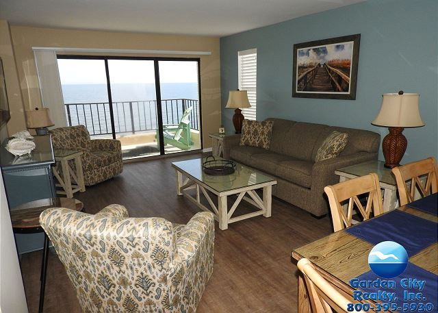 Atalaya Tower 1506 Ocean Front Garden City Beach Rentals