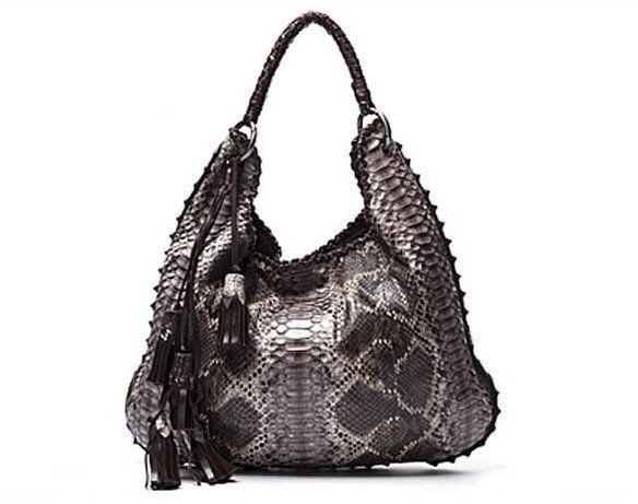 8e49b00ee0 Anthony Luciano Pre-Owned Python Hobo Bag on shopstyle.com | Fashion ...