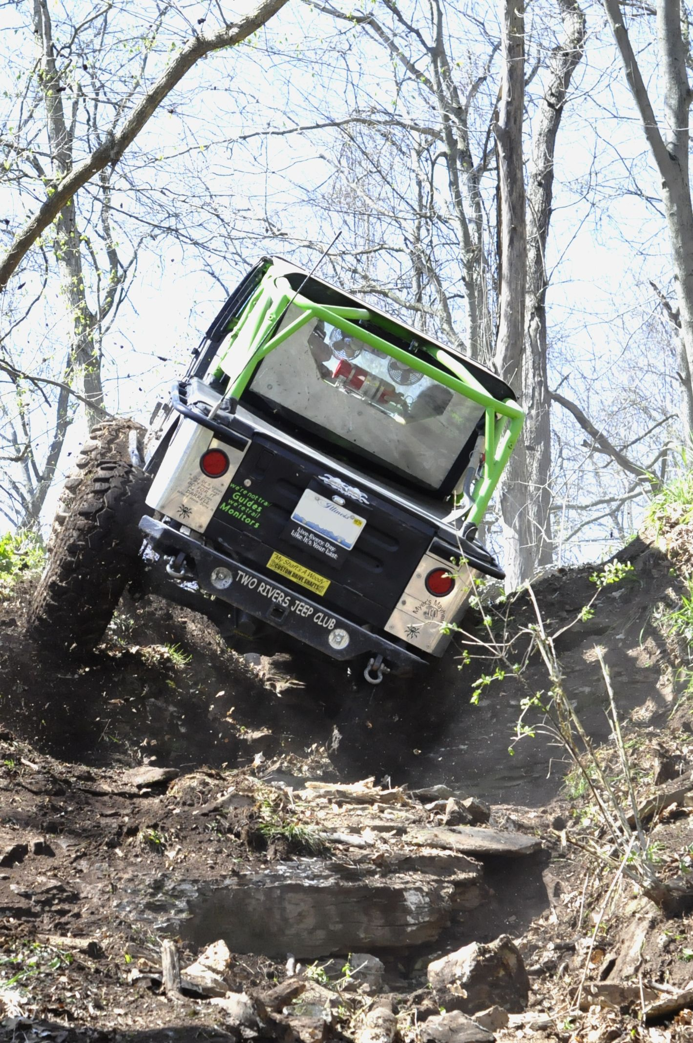 Jeeping On Private Land With Two Rivers Jeep Club In Pittsfield