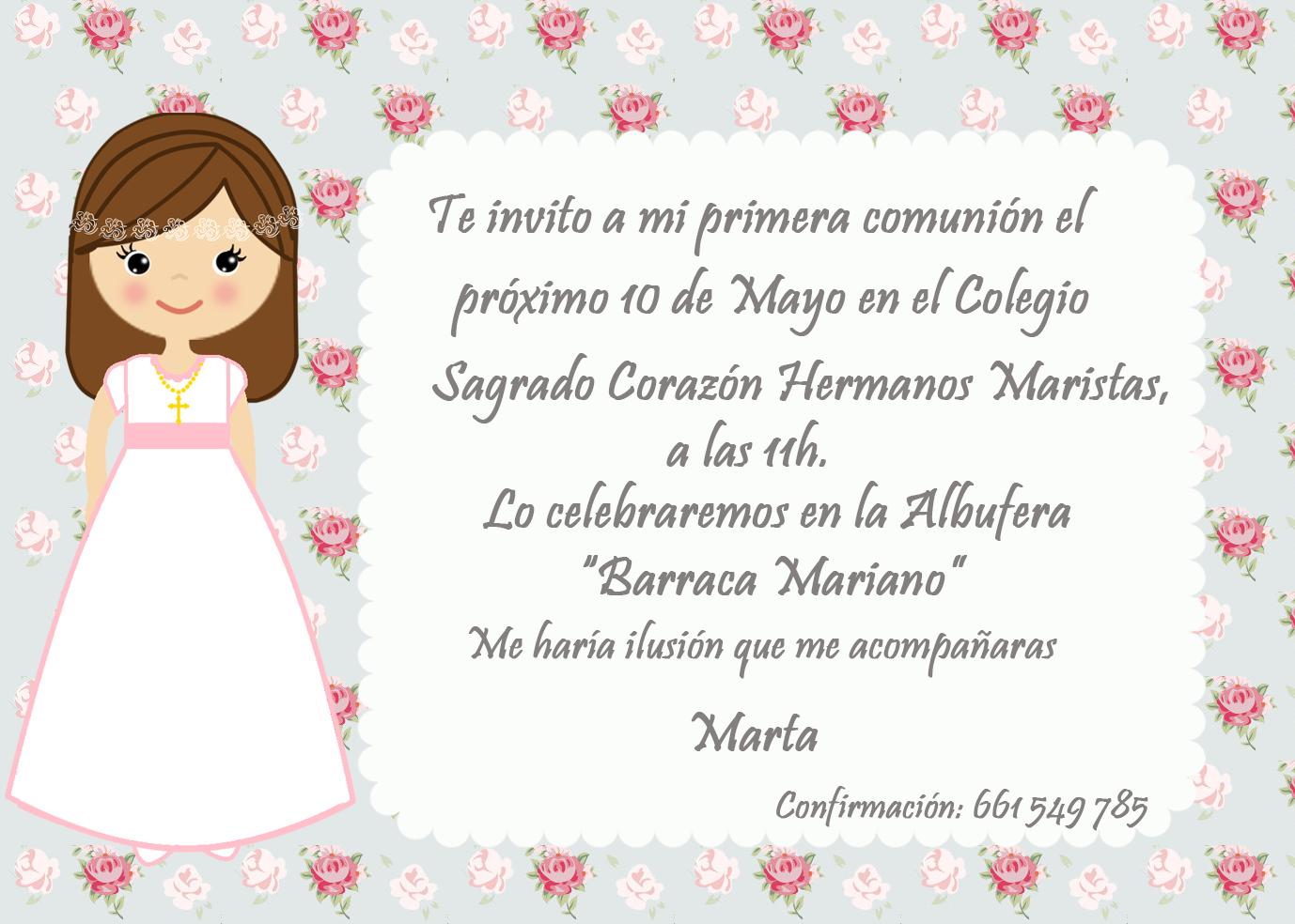 Invitaciones comuni n buscar con google comuni n - Como hacer tarjetas para comunion ...
