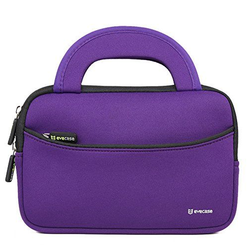 7 - 8 inch Tablet Sleeve, Evecase® 7 ~ 8 inch Tablet Ultra-Portable Neoprene Zipper Carrying Sleeve Case Bag with Accessory Pocket - Purple/Black - Evecase Ultra-portable Universal Neoprene Carrying Case is a lightweight, portable sleeve that is great for protecting your device from scratches and minor impacts. Made of water resistant neoprene, this durable, shock absorbing sleeve is ideal for taking your device on the go. Easily carry your... - http://buytrusts.com/giftsets