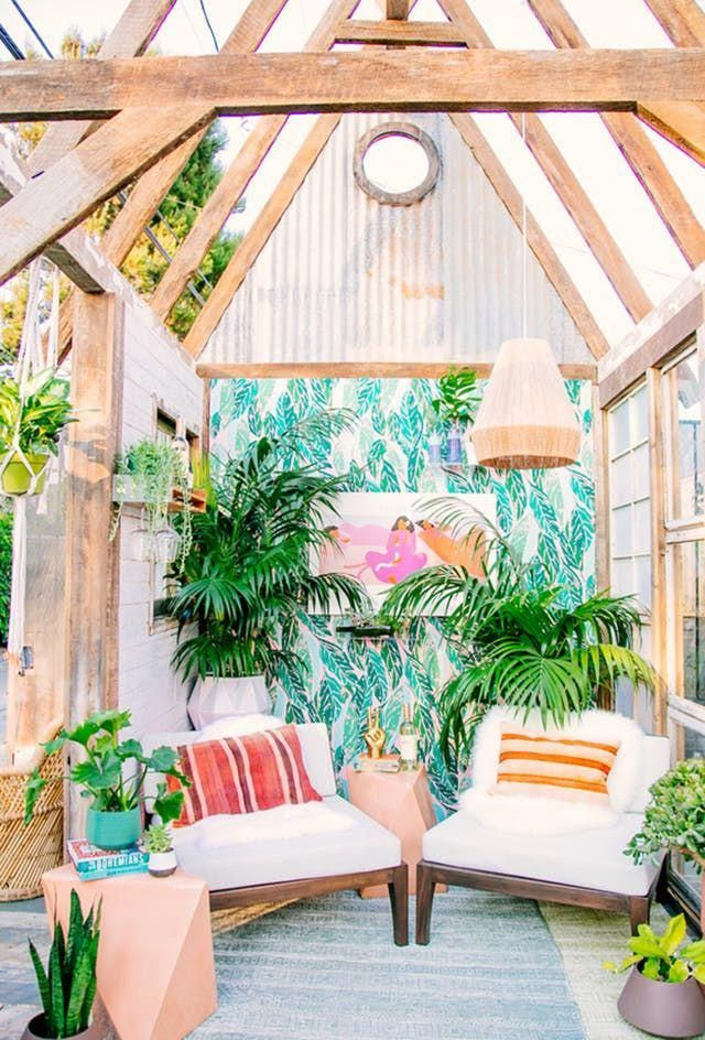 She shed ideas outdoor design apartment therapy shedideas buildashed also rh pinterest