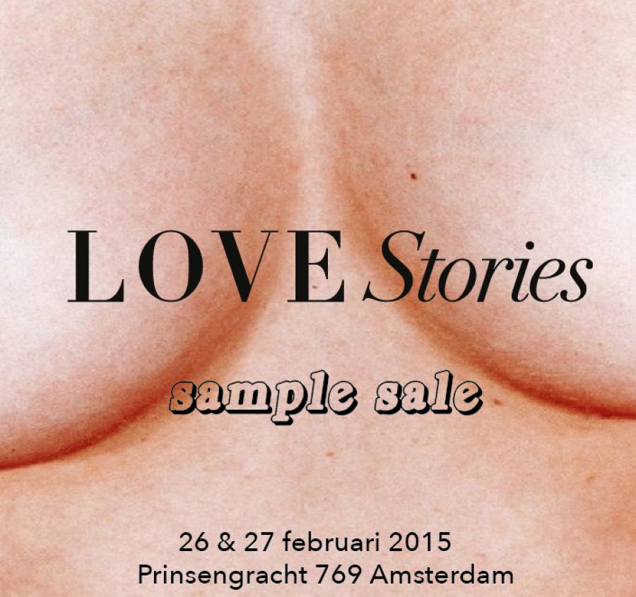 23e7e8e6b0b434 Love Stories Sample Sale (lingerie) -- Amsterdam -- 26 02-27 02 ...