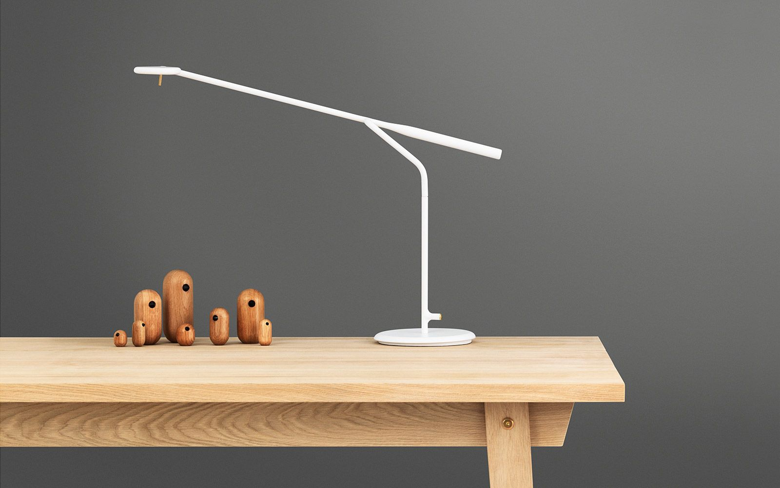 Schön Flow Table Lamp U2013 A Simple And Flexible Modular Lamp