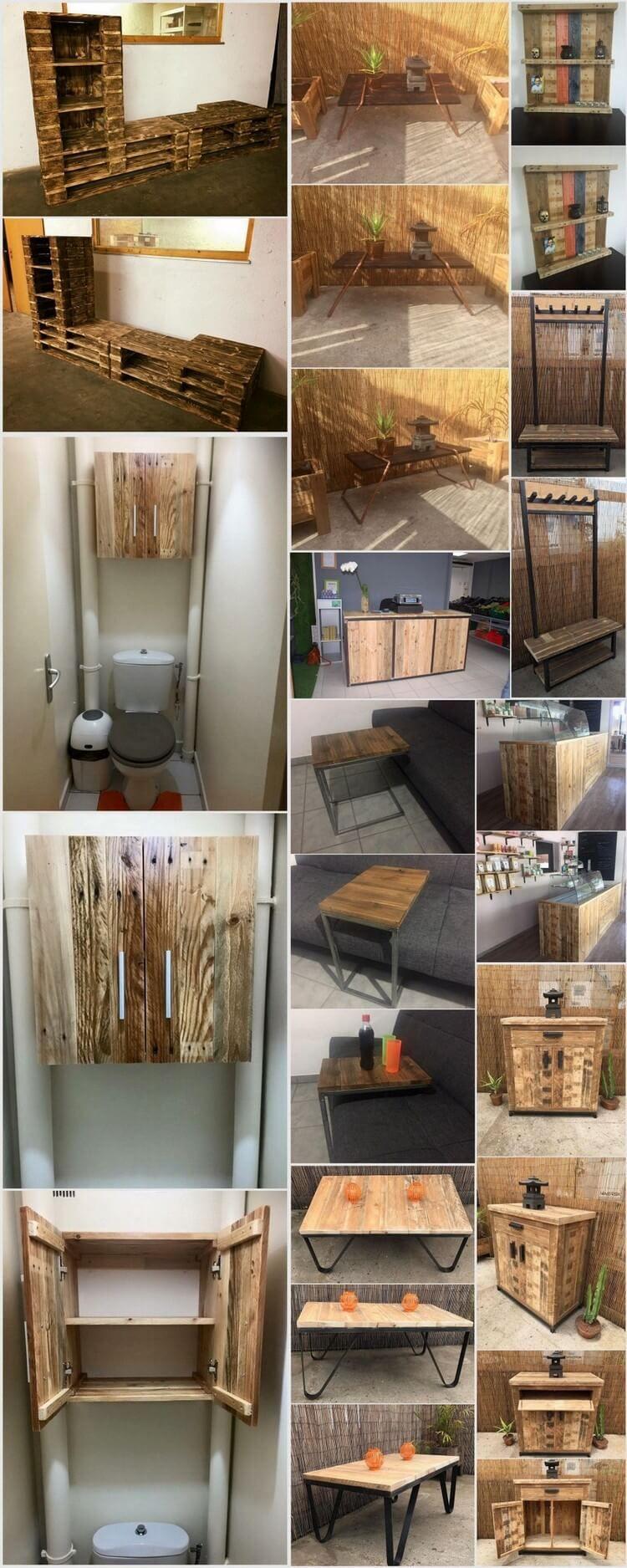 Fantasievolle Kreationen mit alten Holzpaletten | Holzpaletten ...