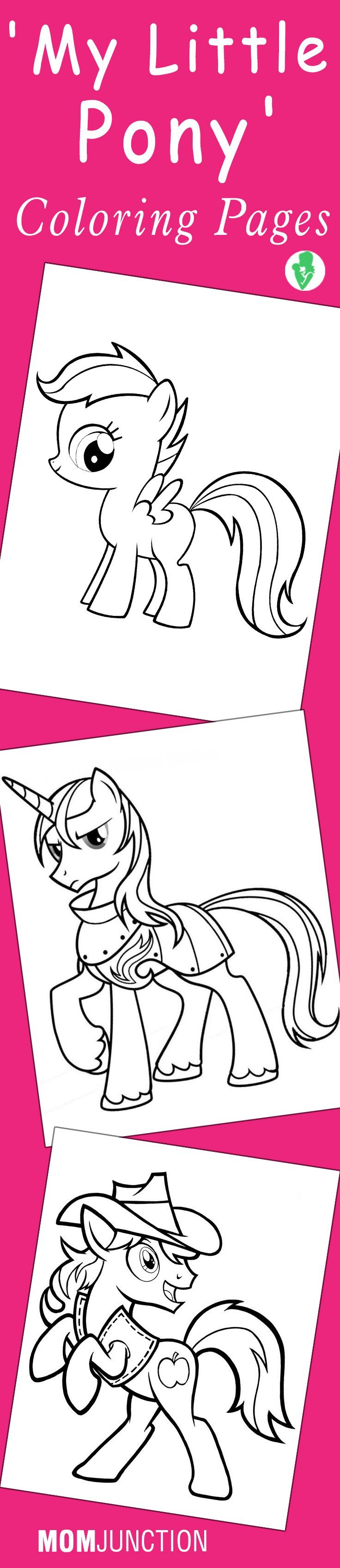 Top 55 \'My Little Pony\' Coloring Pages Your Toddler Will Love To ...