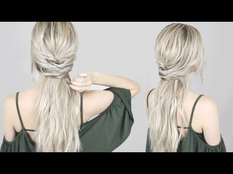 Looking For Some Cute But Easy Hair Ideas For Easter These 9 Tutorials Will Guide You Step By Step To A Chi Hair Lengths Down Hairstyles Shoulder Length Hair