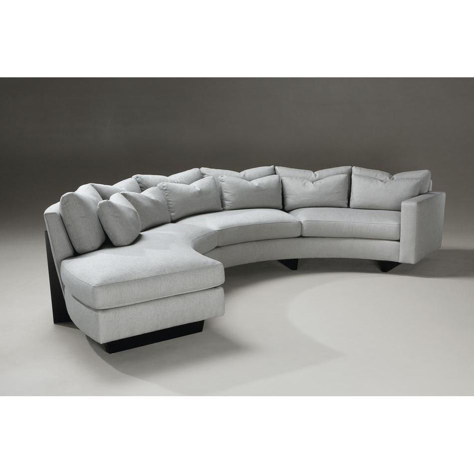 Semi Circular Sofas Sectionals With Curved Sectional living room