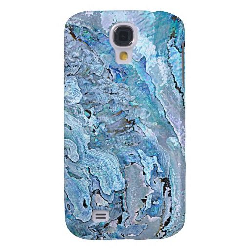 Unique, trendy and pretty Samsung Galaxy S4 case. Beautiful image of pastel pink, lavender violet purple, turquoise blue abalone mother of pearl shell pattern. For the nature, flora, fauna, ocean, sea, beach, and marine life lover. Original, cute and fun gift for mom's or dad's birthday, Mother's or Father's day. Great Christmas present for the girly girl, or those who want a classy, chic and cool phone cover. Also available for iPod 4G 5G, Galaxy S2 S3, iPhone 3 4 5, iPad and more.