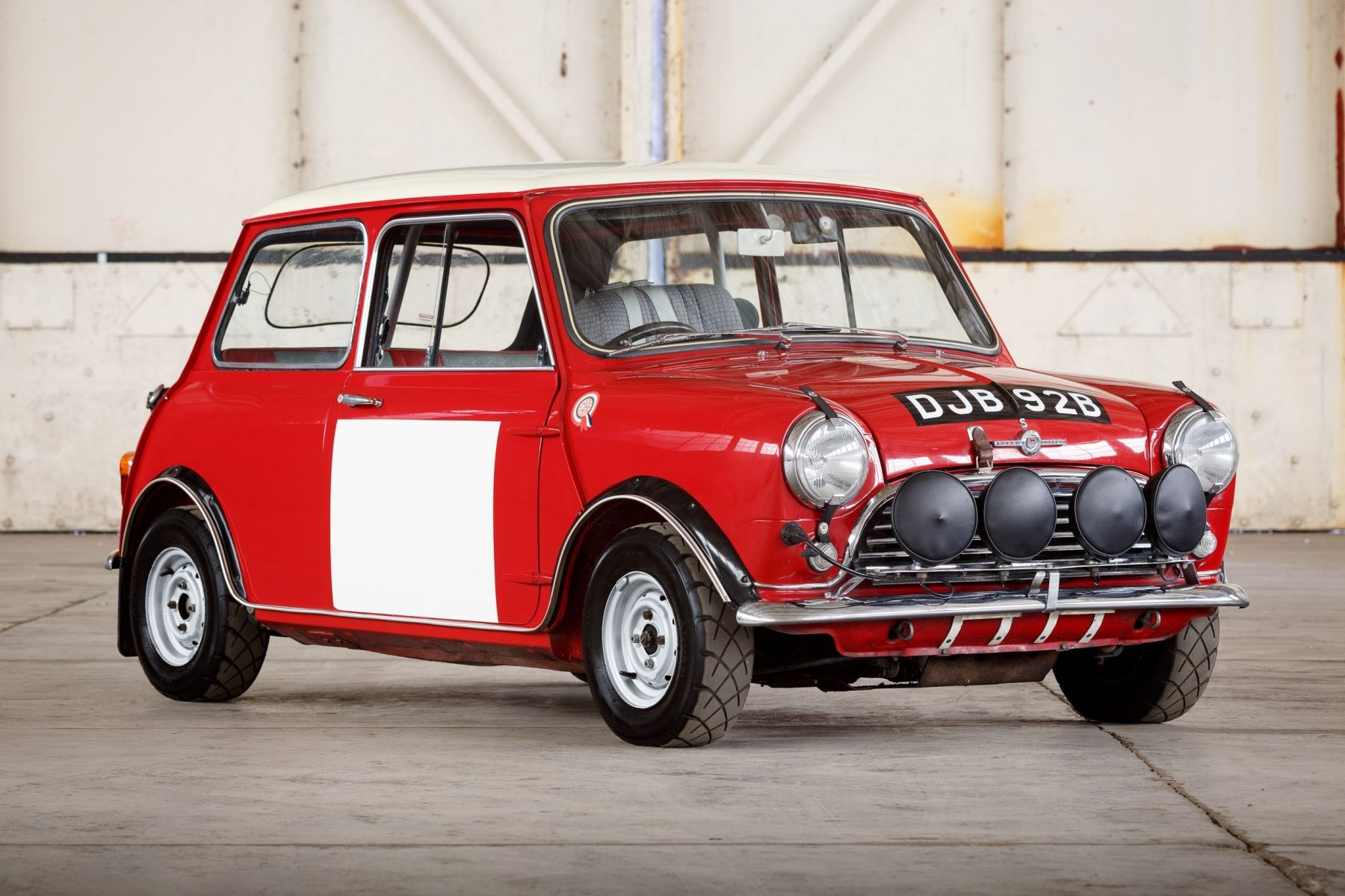 1964 Morris Mini Cooper S Bmc Works Compeion Clic Driver Market