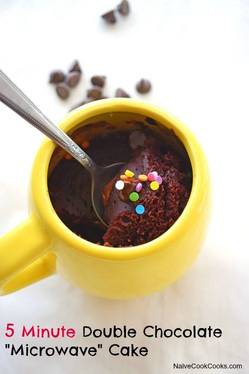 Super simple, really chocolatey and so moist & fluffy just like the real cake! And NO EGGS , NO BUTTER needed! #recipes #chocolate #cake #mug #eggless #nobake #microwave