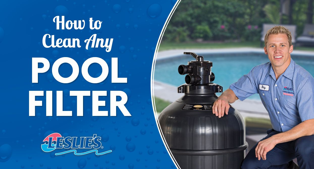 How to clean any pool filter pool filters cleaning pool