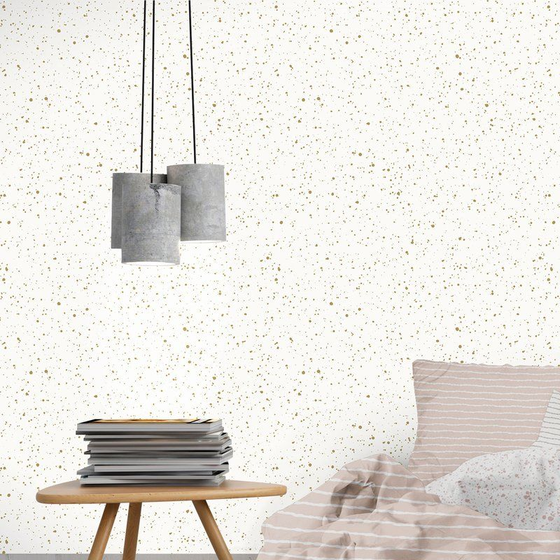 Spatter Gold by Bobby Berk SelfAdhesive, Removable 33' x