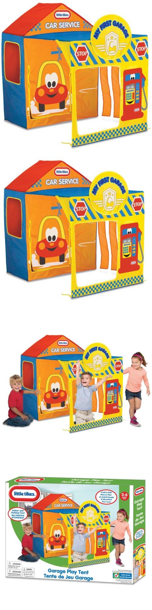 Child Size 2574 Little Tikes Garage Play Tent -u003e BUY IT NOW ONLY  sc 1 st  Pinterest & Child Size 2574: Little Tikes Garage Play Tent -u003e BUY IT NOW ONLY ...