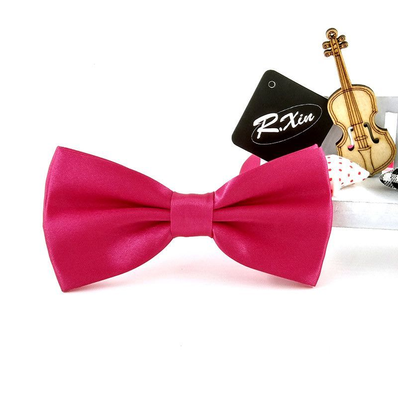 R.Xin 2016 Formal Solid Butterfly Bow Tie