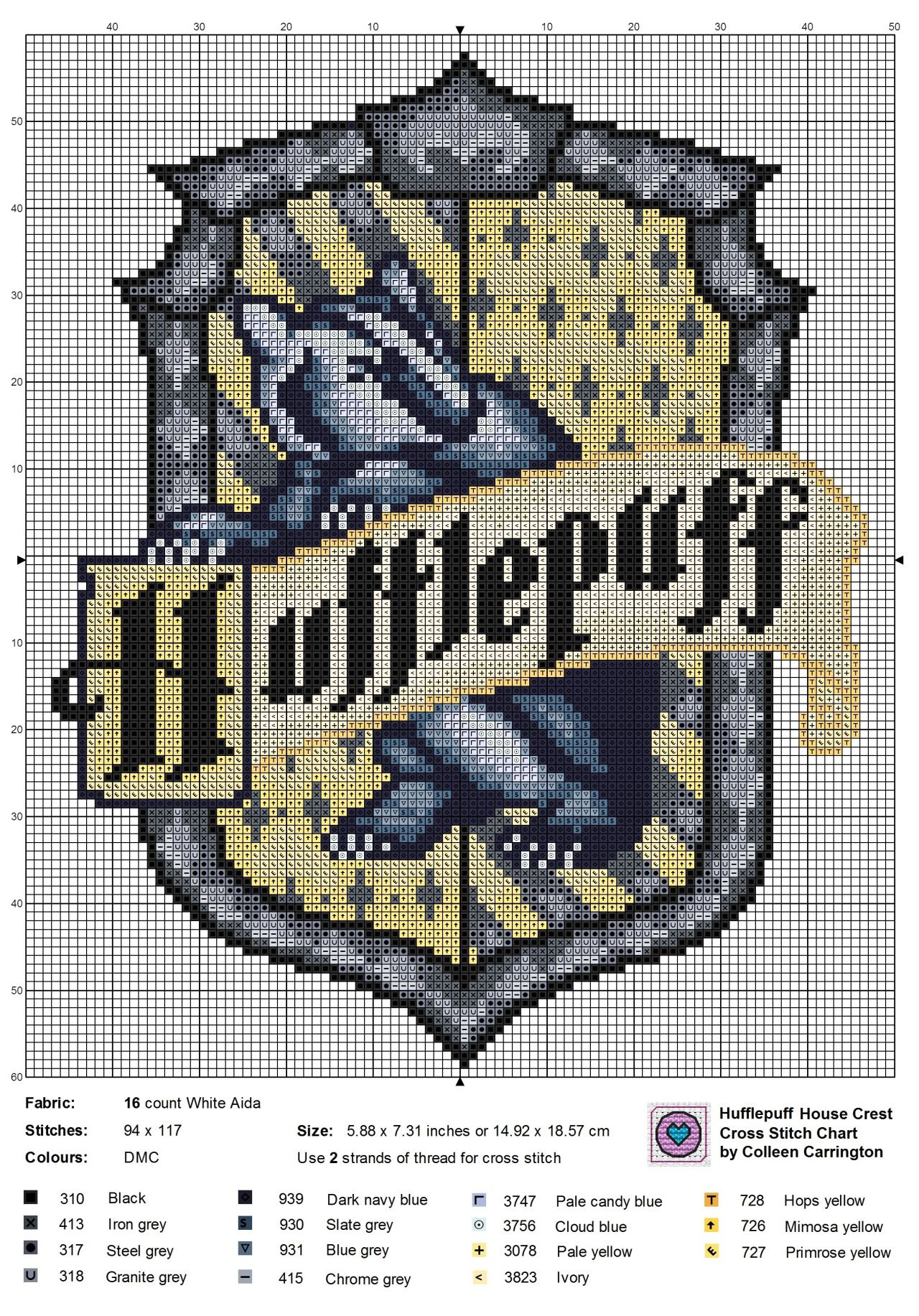 The World In Stitches Harry Potter Cross Stitch Pattern Cross Stitch Cross Stitching