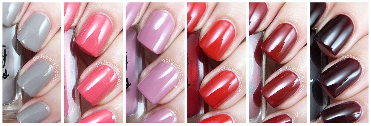 Pretty Serious Pinup Perfection Collection nail polish on pollypolish.com