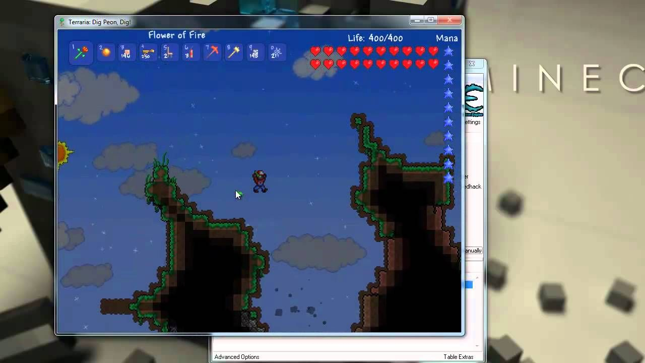 Terraria Hack - Unlimited Health and Unlimited Mana | Life