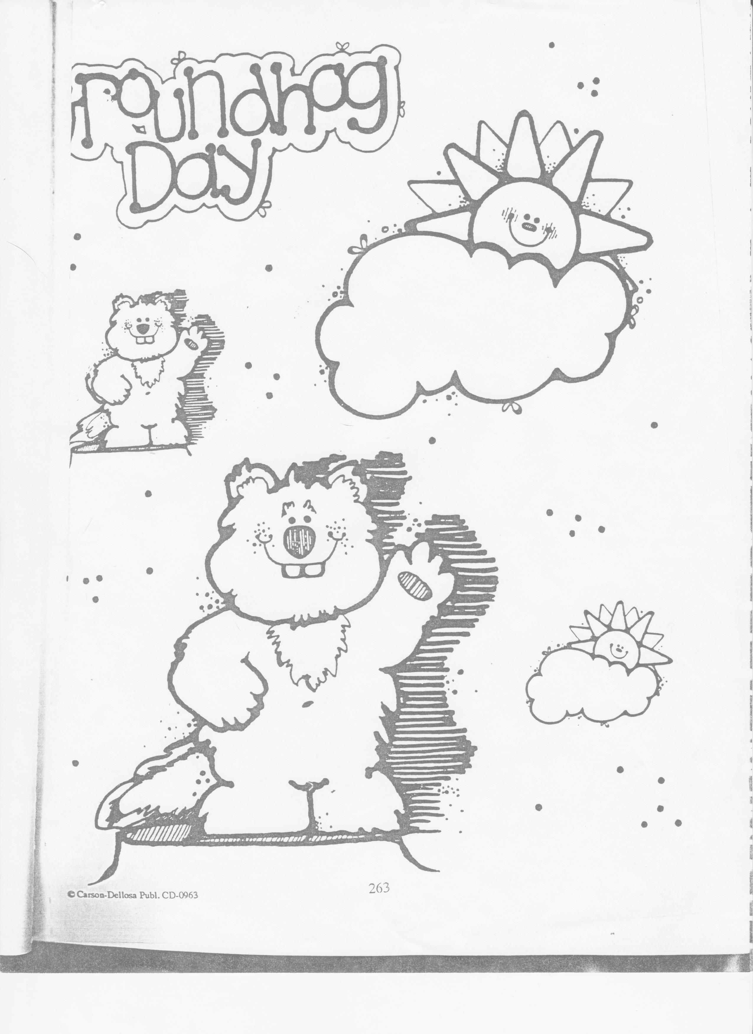 Groundhogs Day Clip Art