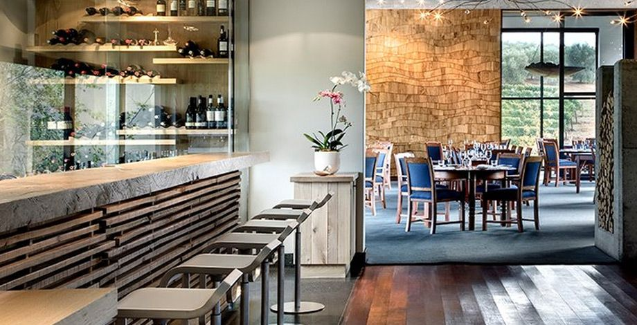 Tokara winery and restaurant, Stellenbosch Fine dining