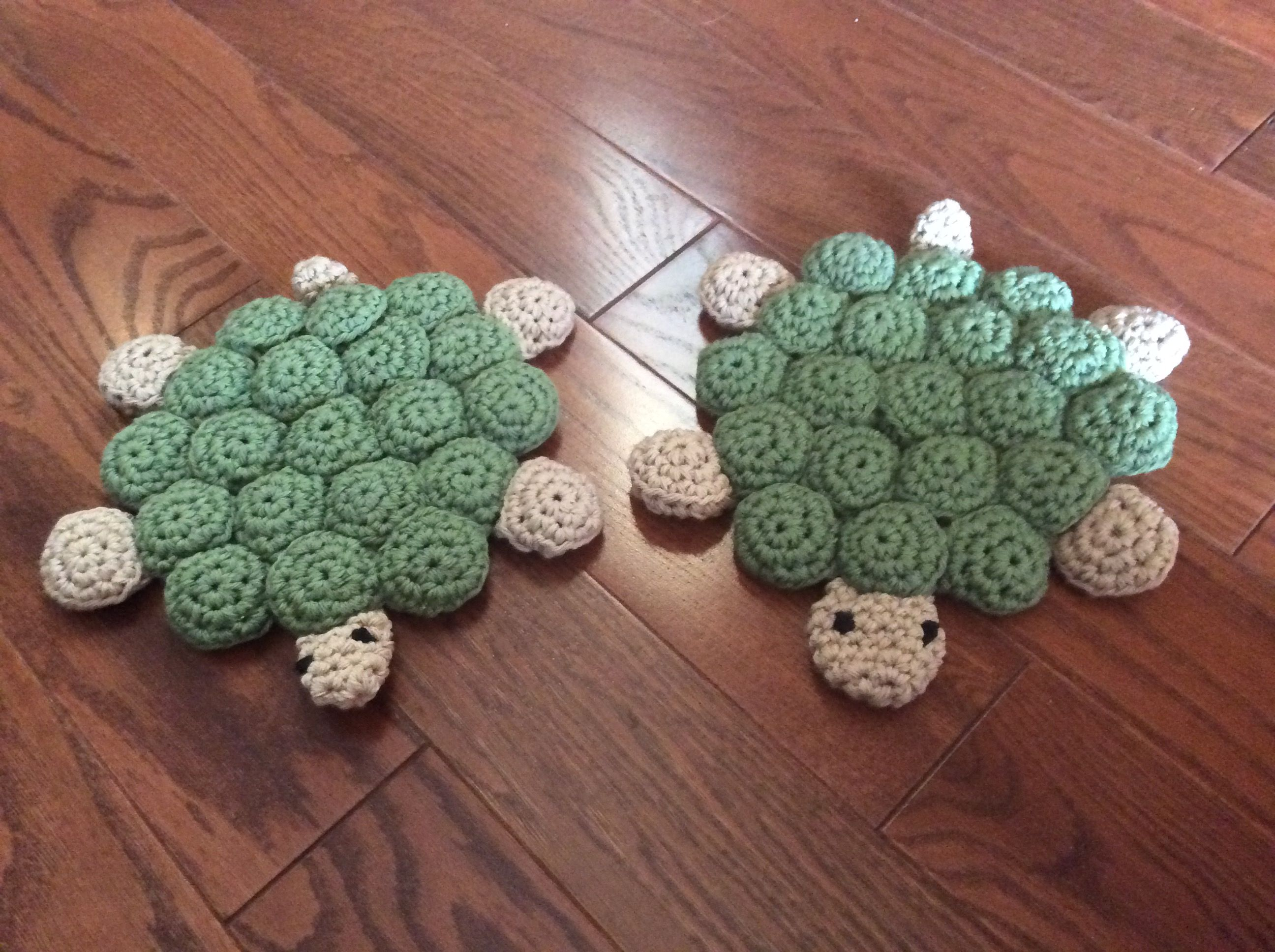 Turtle Metal Bottle Cap Trivet Made By Knitting By Pam And Donna