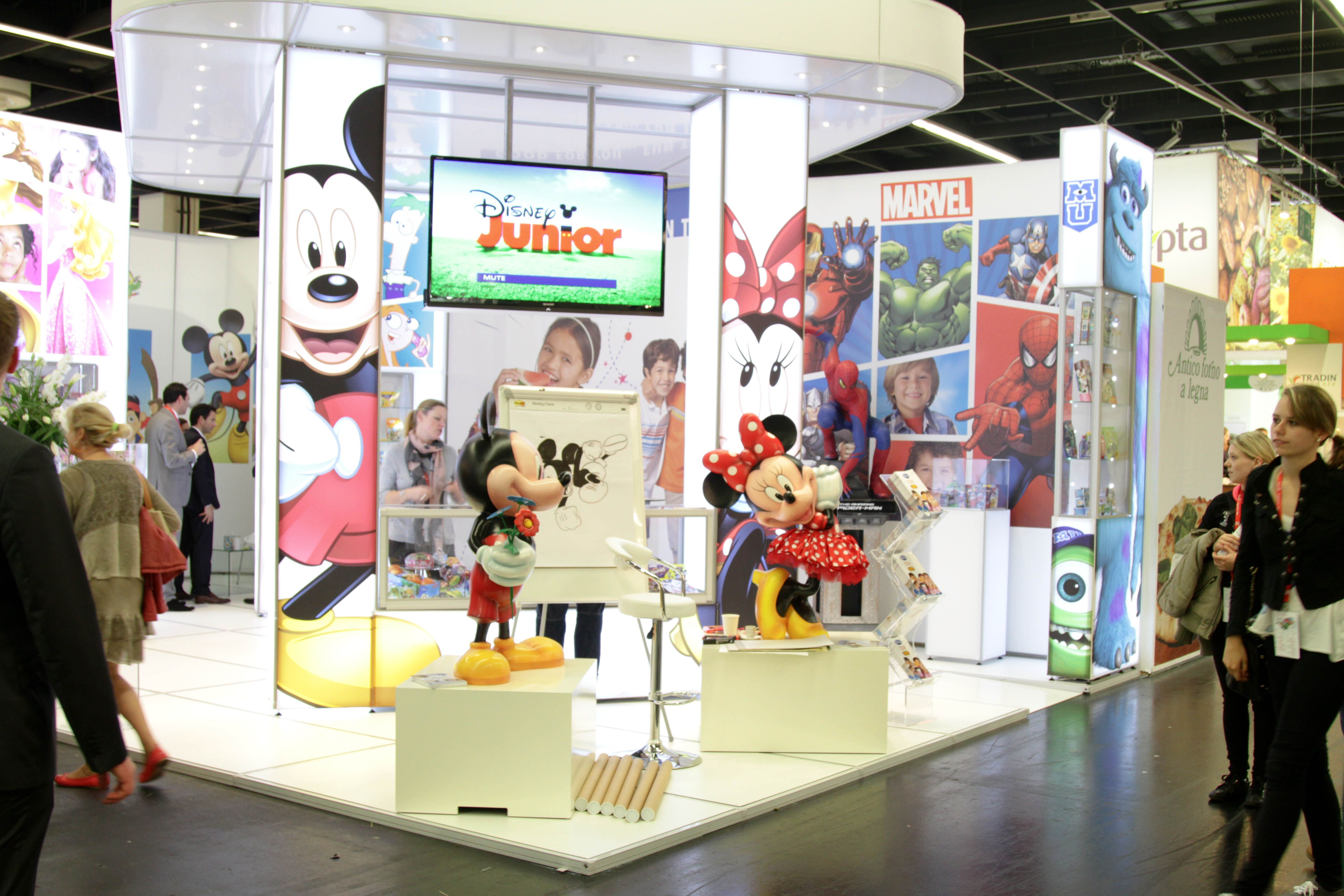 Fabric Exhibition Stand Alone : Esetta stand we designed and installed for disney