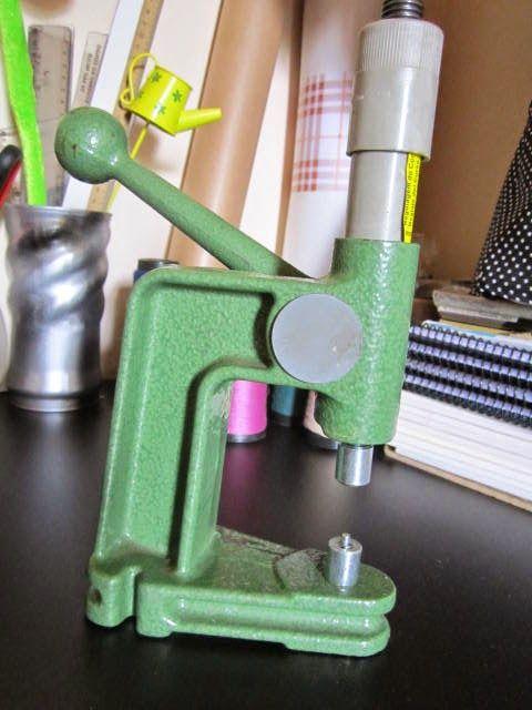 Patria Da Costura Maquina Manual De Botao De Pressao Ilhos