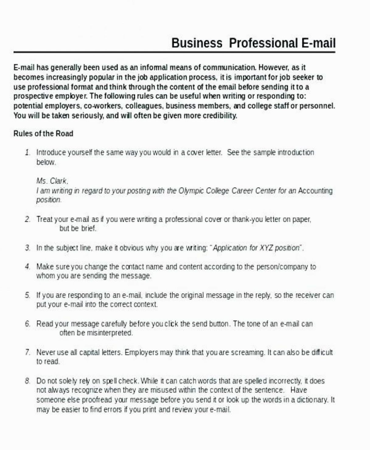 12 Writing Sample Format in 2020 Business letter format